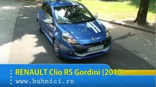 REVIEW Renault Clio RS Gordini 2010 www. buhnici.ro