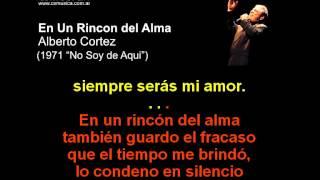 Alberto Cortez - En Un Rincon Del Alma - Karaoke