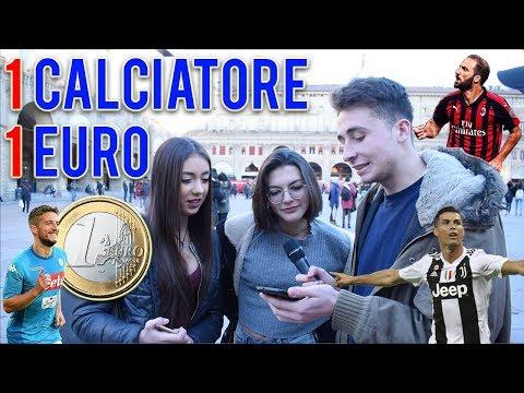 REGALIAMO 1 EURO alle RAGAZZE per ogni calciatore che riconoscono!