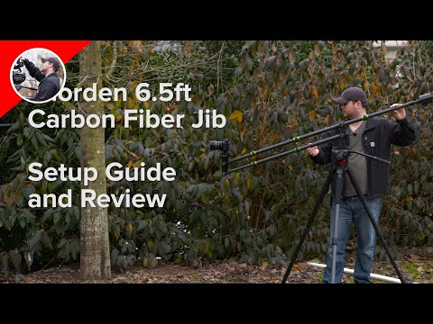 IMORDEN 6.5ft Carbon Fiber Camera Jib:  Setup Guide and Review