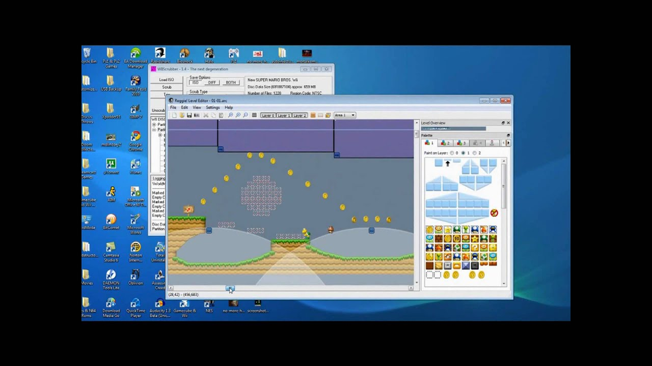 How to create and play custom new super mario bros wii levels with how to create and play custom new super mario bros wii levels with reggie downloads included youtube gumiabroncs Gallery