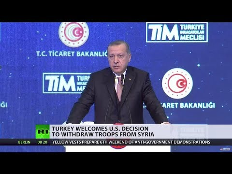 Turkey welcomes US move to withdraw from Syria
