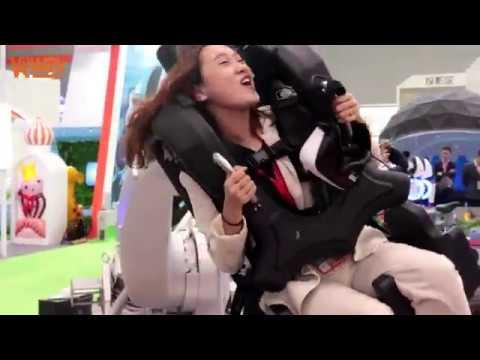 Hot Sales 2019 9D VR Robot Arm Amusement Park Product ...