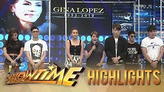 It's Showtime family pays tribute to late Gina Lopez | It's Showtime