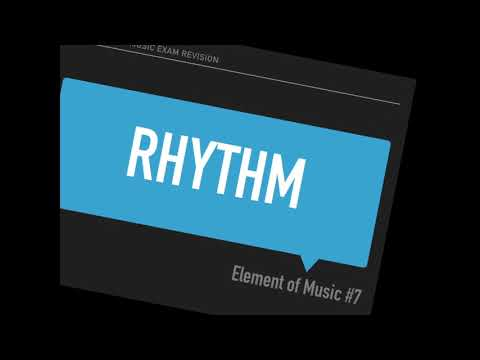 Elements of Music Exam Revision
