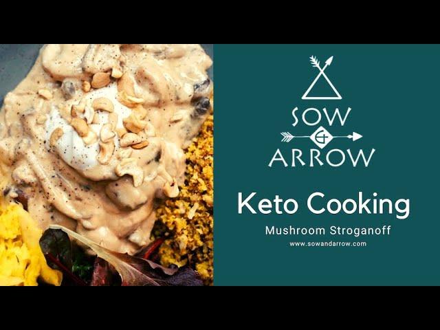 Keto Cooking: Mushroom Stroganoff