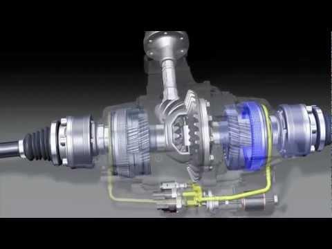 Audi. Diferencial trasero activo