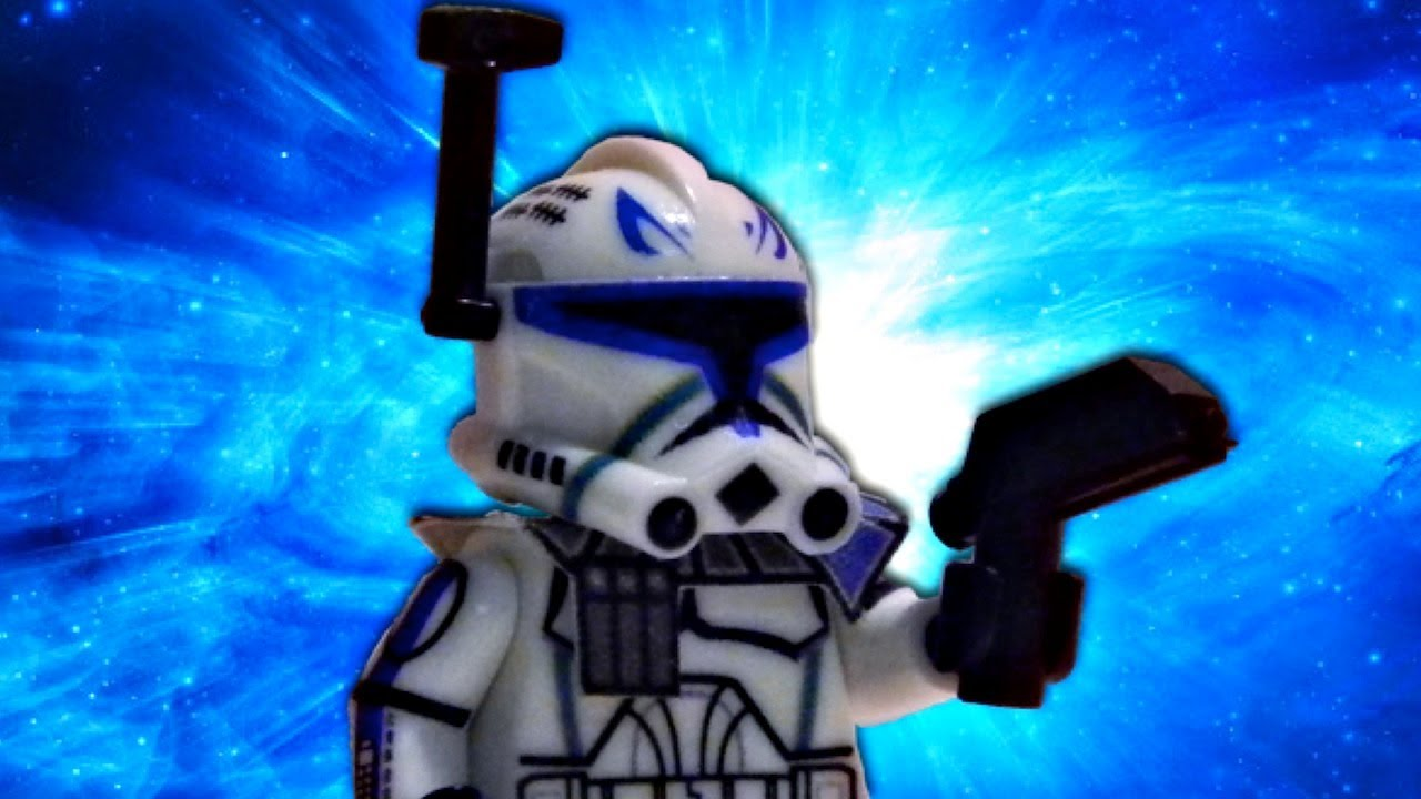 Lego Star Wars Custom Clone Wars Phase 2 Clone Captain Rex From
