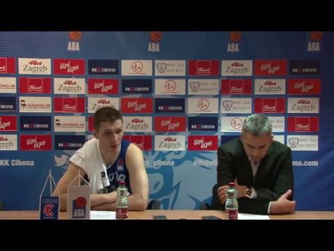 Press konferencija (LIVE) KK Cibona - KK Budućnost