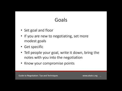 Career Advice Series: Guide to Negotiation:  Tips and Techniques