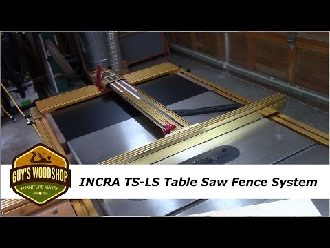 Incra TS-LS Table Saw Fence Features and Benfits