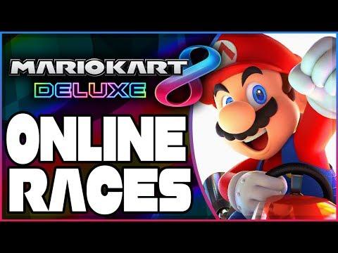 Mario Kart 8 Deluxe - Online Races With Sponsors! [Sponsor Appreciation Saturday]