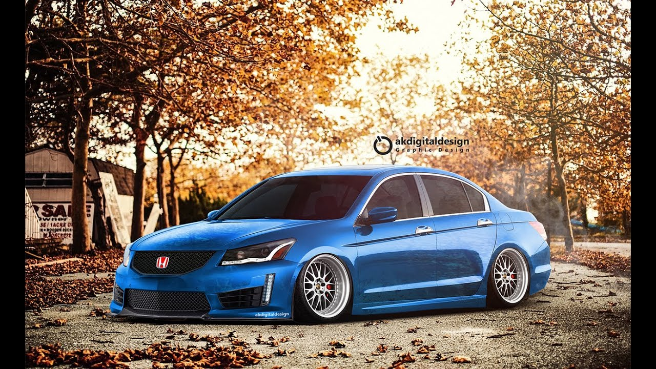 Honda Accord Sedan Modified Virtual Tuning Youtube