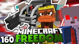 HERR BERGMANN STIRBT?! & DIE BASIS DER REBELLEN! ✪ Minecraft FREEDOM #160 | Paluten
