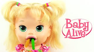 Video Baby Alive Maya ile Mama Zamanı Yemek Yiyen Oyuncak Bebek download MP3, 3GP, MP4, WEBM, AVI, FLV November 2017