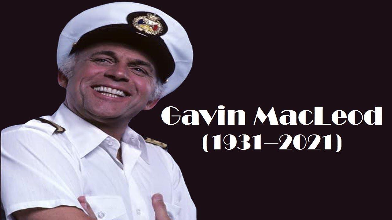 Gavin MacLeod, 'Love Boat' Captain and 'Mary Tyler Moore Show ...