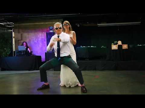 Best surprise wedding father daughter dance ever!