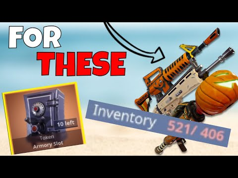 NEED MORE SPACE? How To Get More Backpack & Inventory Space | Fortnite Save The World
