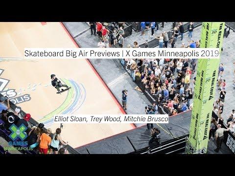 Skateboard Big Air Athlete Profiles | X Games Minneapolis 2019