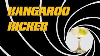 Kangaroo Kicker (aka Vodka Martini) - The Famous Shaken, Not Stirred James Bond Cocktail