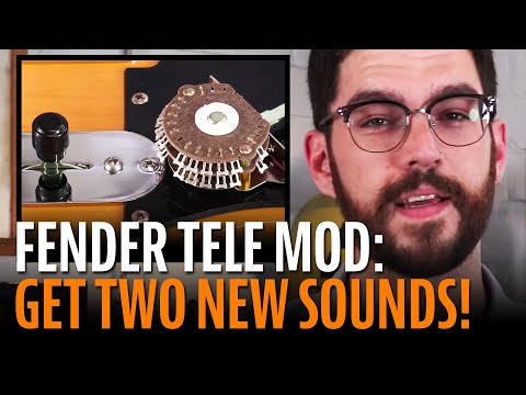 How to get two more sounds out of your Fender Telecaster