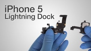 Charging Dock Port, Audio Jack, Cellular Antenna & Microphone Repair - iPhone 5 How to Tutorial