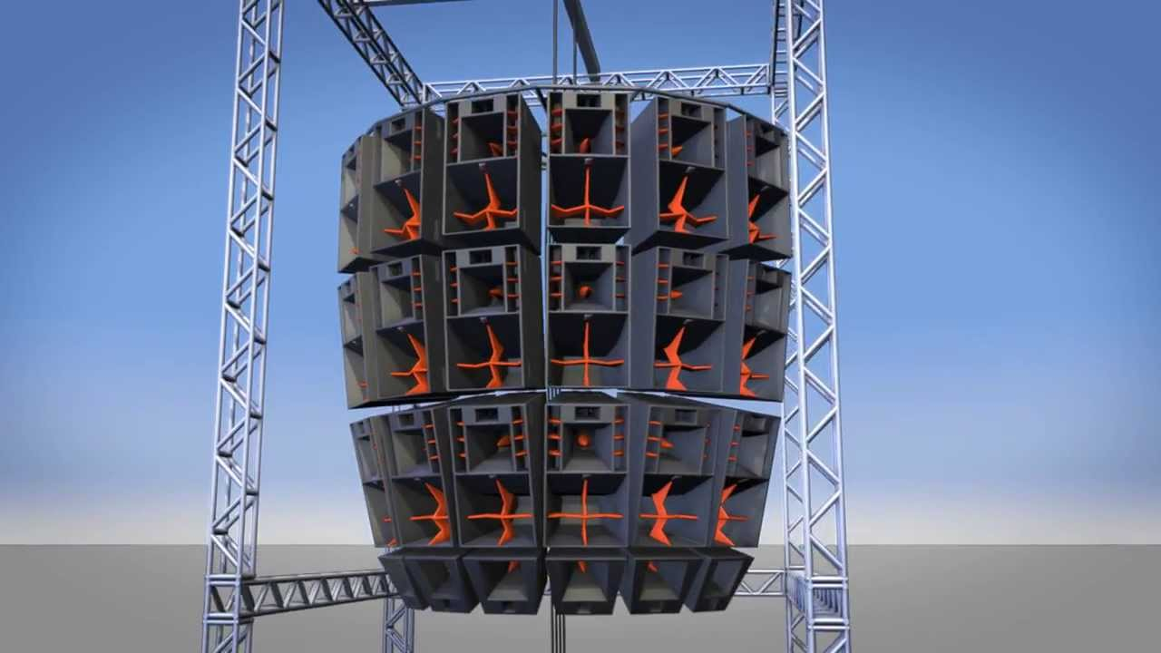 Element 5 Systems 3d Flying Loudspeaker Array Youtube
