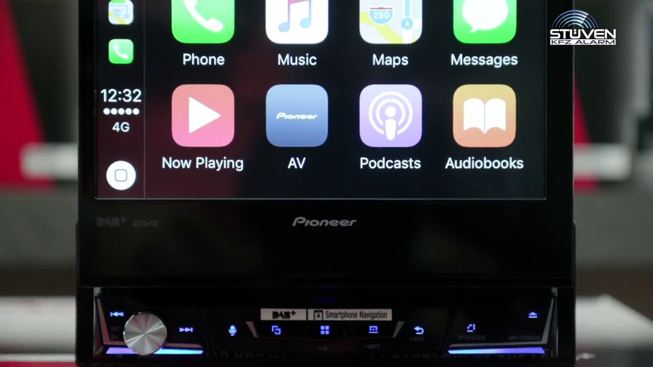 pioneer avh z7000dab 1din carplay monoceiver android auto youtube. Black Bedroom Furniture Sets. Home Design Ideas