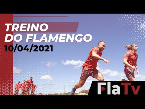 TREINO FLAMENGO – Elenco finaliza preparação para a Supercopa