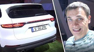 видео Porsche Cayenne Turbo 2018-2019 года - фото, цена в России, характеристики Порше Кайен Турбо