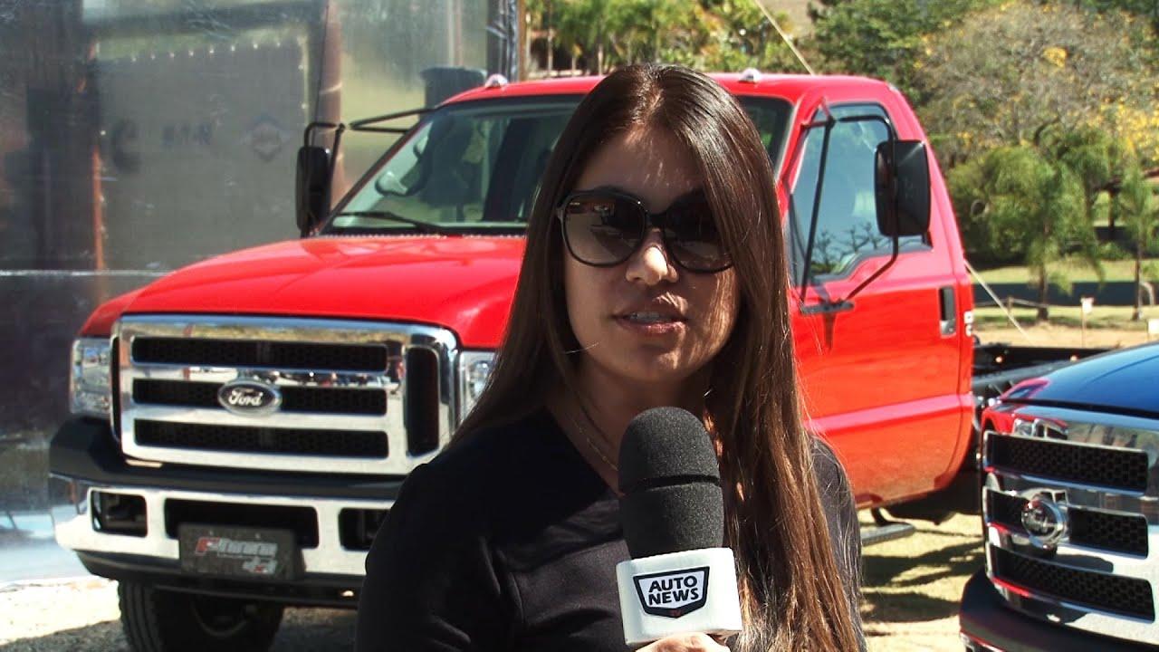 Nova linha Ford F-350 e F-4000 - YouTube