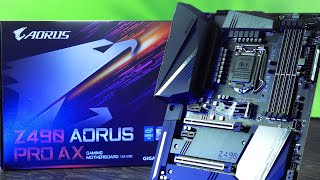 Aorus Z490 Pro AX Motherboard Review - 'Premium Value', if that's a thing.