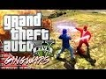 GTA 5 Online GANG WARS (Funny Star Wars Skit)