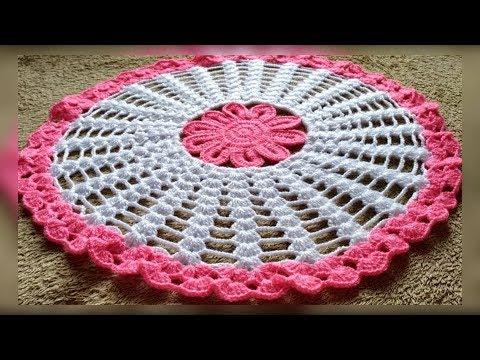 Woolenthalposh Crochet Table Cover Crosia Thalposh 9