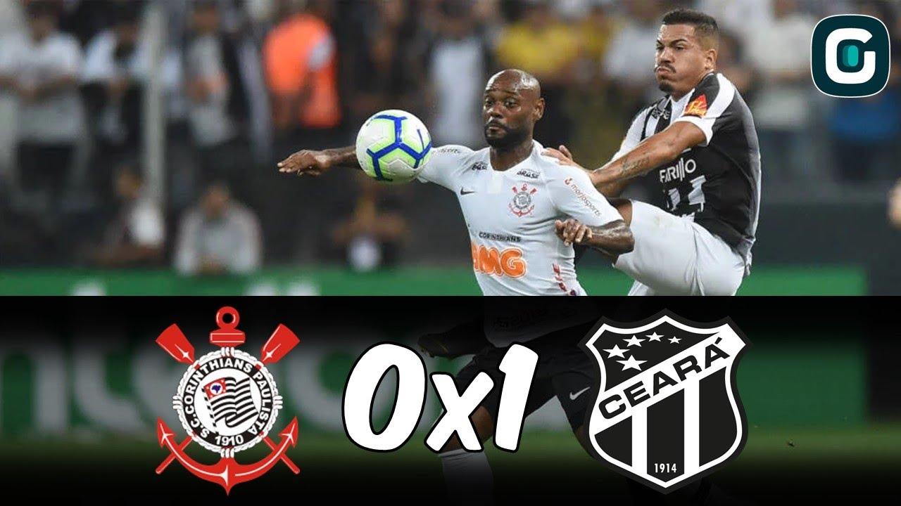 Corinthians 0 X 1 Ceara Melhores Momentos Da Partida 03 04 19 Youtube