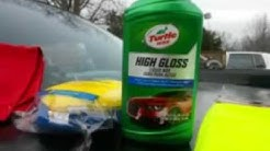 Turtle wax lastest version hige gloss shine demo review