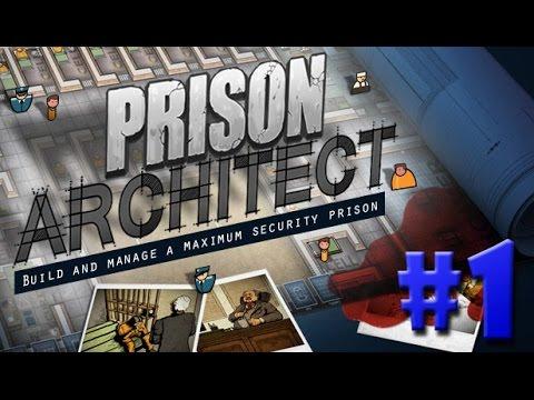 Prison Architect - COMO COMEÇAR UMA PRISÃO!!! #1 (Gameplay / PC / PTBR) HD