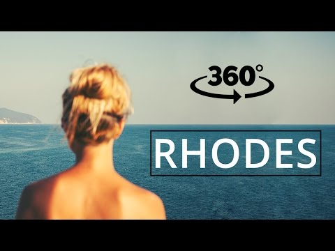 Rhodes Holidays - What You should see? -  360° VIDEO #geekwork