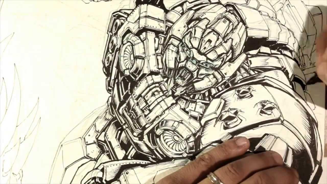 how to draw mecha robots pdf
