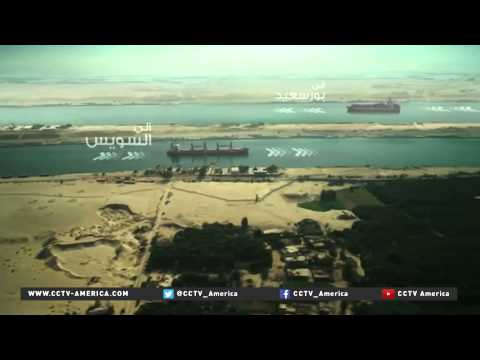 Egypt hopes Suez Canal expansion will increase revenues, revive waterway