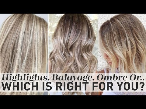 Balayage or ombre which is better
