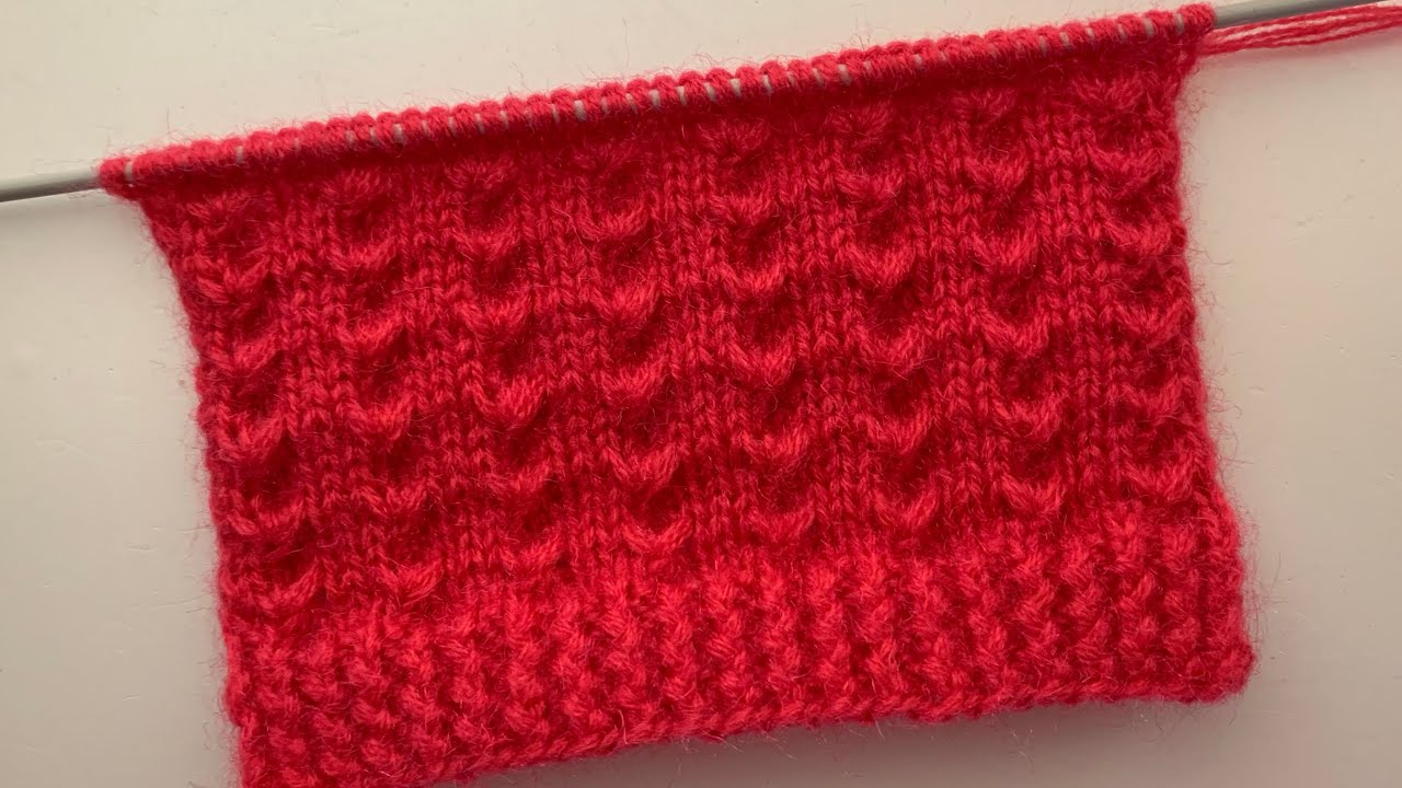 Easy Knitting Stitch Pattern For Sweater