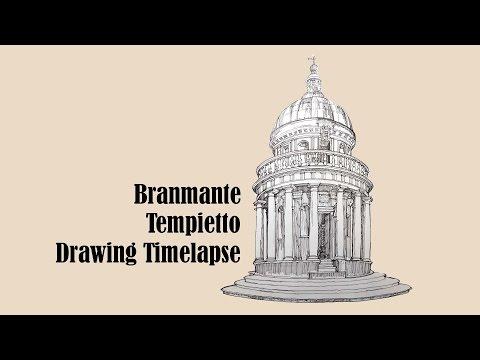 Architecture Sketch #005 Tempietto by Donato Bramante