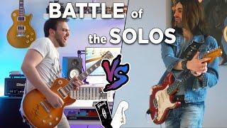 Battle Of The Solos: GIBSON vs FENDER