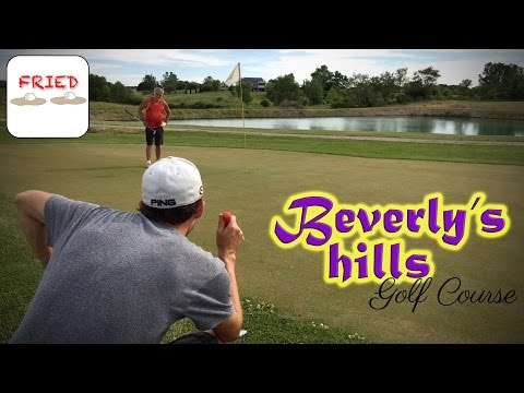 Beverly's Hills Backyard Course Vlog vs My Dad