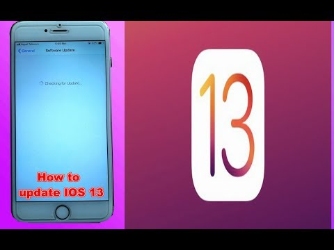 How To Update IOS 13 On Iphone 6|6s|6plus| Iphone 7| 7plus| IPhone 8| 8plus| IPhone X Ios13 Update.