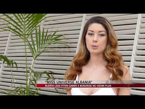 """""""Miss Universe Albania"""", Blerta Leka fiton garën e bukurisë - News, Lajme - Vizion Plus"""