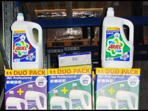 Hamis mosógél magyar kamionban - 4314 palackkal bukott a szállító