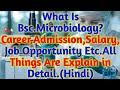 Bsc.Microbiology क्या Better है Career के लिये|ADMISSION,Salary,Career,Job!जानिये Many Things(Hindi)