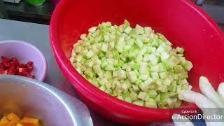 Кабачки тушеные с овощами-быстро и вкусно!